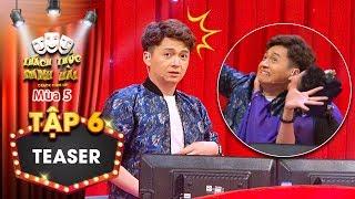 Thách thức danh hài 5| Teaser tập 6: Ngô Kiến Huy tháo chạy khi bị thí sinh cưỡng hôn trên sân khấu?