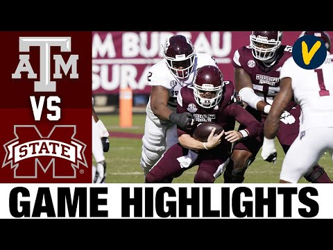 #11 Texas A&M vs Mississippi State Highlights | Week 7 2020 College Football Highlights