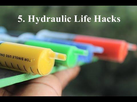 5 Amazing Ideas - Top 5 Hydraulic Life Hacks