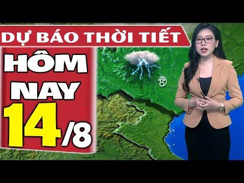 Dự báo thời tiết hôm nay mới nhất ngày 14/8/2021 | Dự báo thời tiết 3 ngày tới