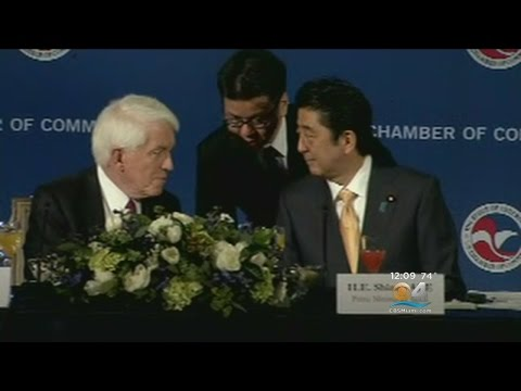 Pres. Trump To Host Japan PM In Palm Beach