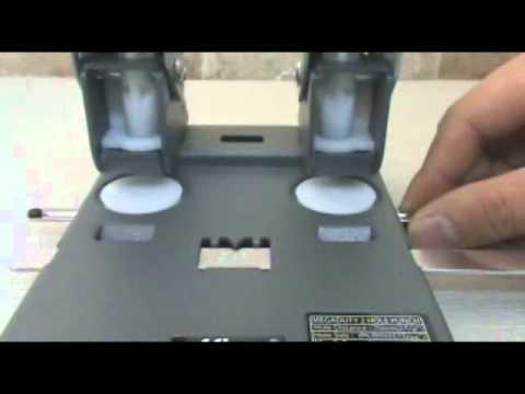 Perforadora de papel dp7080 youtube - Papel de vinilo para cocinas ...