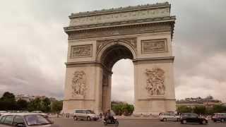 #13553, El arco del triunfo en Paris [Efecto], Construcciones históricas
