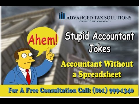 Stupid Accountant Jokes Advanced Tax Solutions YouTube