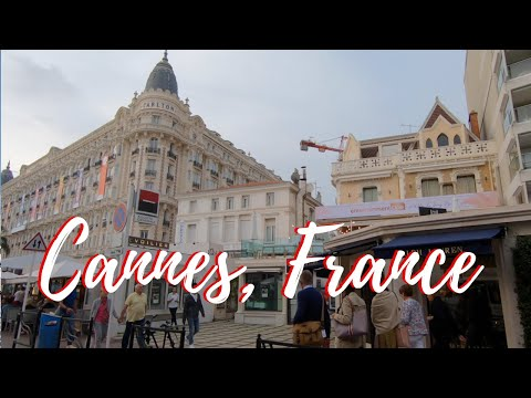 Cannes France 4k Travel Guide Walking Tour