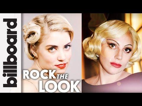 Lady Gaga Pin Curls Hair Tutorial ft. Stylist Patricia Morales | Billboard Rock The Look