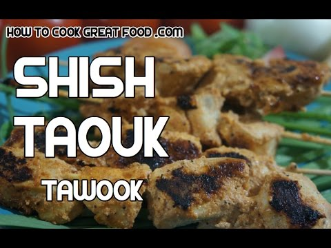 Easy Shish Taouk Arabic Kebabs How To Make Shish Tawook How To