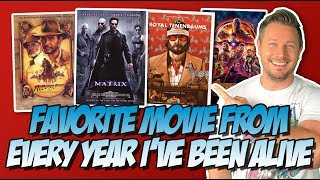 My Favorite Movie From Every Year I've Been Alive!