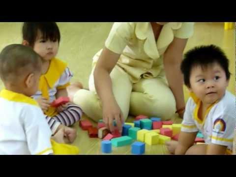 Hoạt động góc của khối nhà trẻ trường mầm non Hạnh Phúc