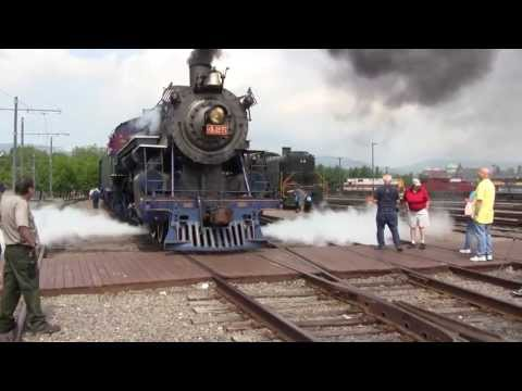 A Day at Steamtown 9/1/13: Railfest 2013 Part 1