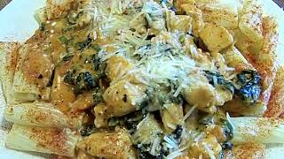 Chicken Florentine, Tomato Basil Cream Sauce Pasta 2/2 Chef John The Ghetto Gourmet