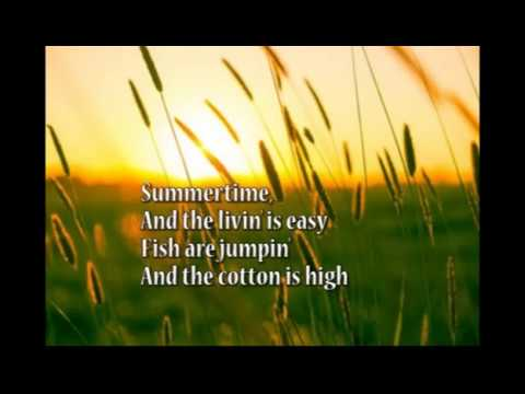 Summertime  Gershwin: with lyrics