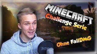 Ich darf nicht FALLEN ... HILFE! ❤ Minecraft Challenge Serie   Jungblut