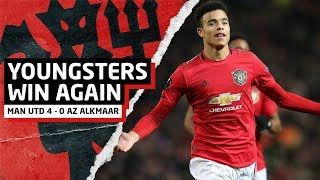 Youngsters Win Again! | Man United 4-0 AZ Alkmaar | United Review