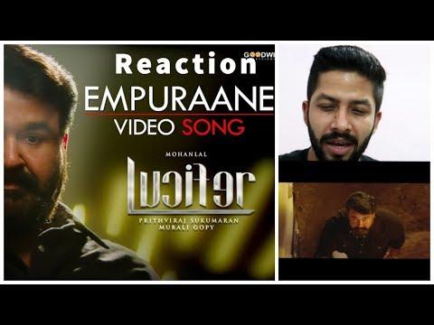 Empuraane Video Song Reaction | Lucifer | Mohanlal | Prithviraj | Fun Mania