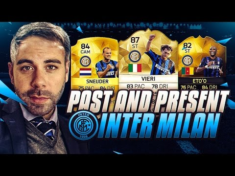 PAST AND PRESENT INTER MILAN SQUAD BUILDER!!!! FIFA 16 Ultim
