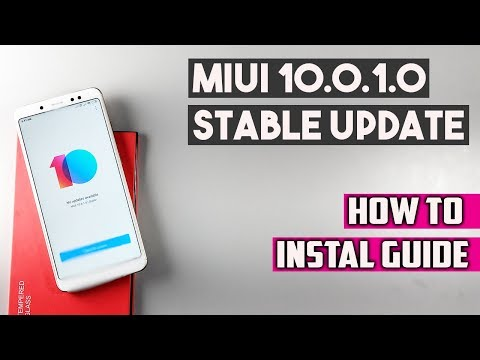 Redmi Note 5 Pro MIUI 10.0.1.0 STABLE UPDATE - How to Install