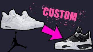 Custom Air Jordan x Jay-Z Retro 4