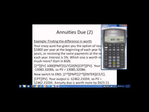 Special Cash Flow Streams, Loan Amortization and