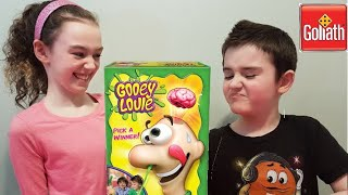 Goliath Games! Gooey Louie! Games for kids!  Game Review! Rainbow Ally