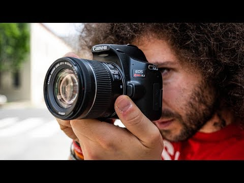 """5 Min Portrait   How to get PROFESSIONAL Photos with a CHEAP Camera """"Canon SL3"""""""