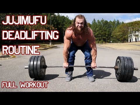 Jujimufu Deadlifting routine