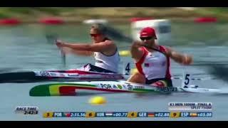 2018 ECA Canoe Sprint European Championships in Belgrade, Serbia Mens K-1 1000m Final A.