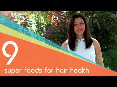 9 super foods for hair health