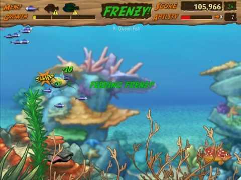 Let 39 s play feeding frenzy 2 02 big fish scare me for Feeding frenzy fish