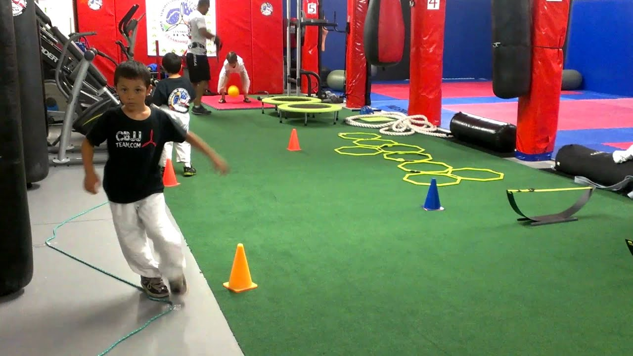 Cbjj Team Kids Functional Circuit Training Youtube