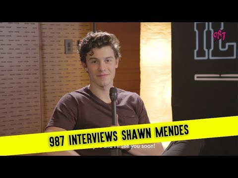 987 Interviews Shawn Mendes