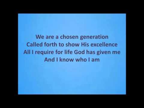 I know who god says I am