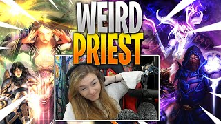 Testing Janky Viewer Decks | St0neman's Weird Priest | Hearthstone: SAVIORS OF ULDUM]