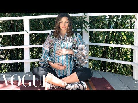 Miranda Kerr Rewrites the Maternity Fashion Rules | Vogue