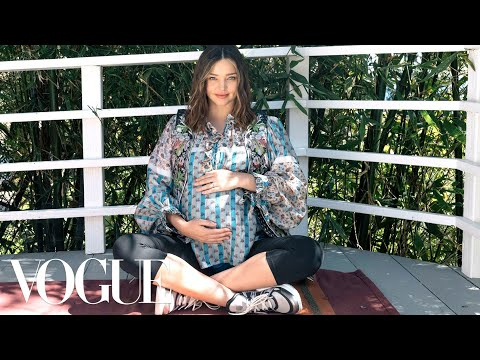 Miranda Kerr Rewrites the Maternity Fashion Rules  Vogue