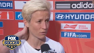 Rapinoe not worried about missing next match - FIFA Women's World Cup 2015