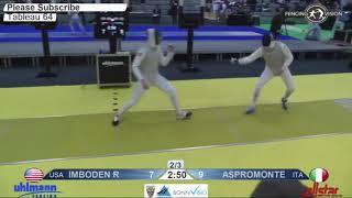 Live Commentary #1 - Imboden vs. Aspromonte