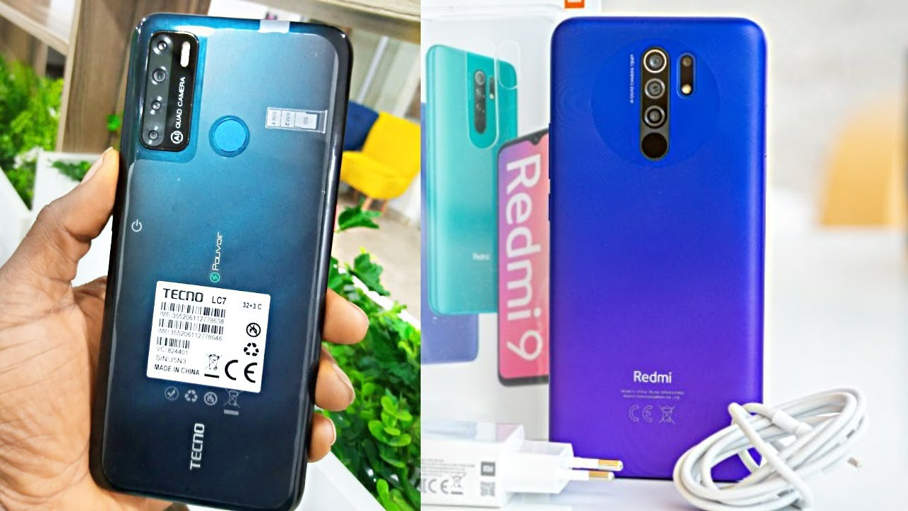 Redmi 9 Prime VS Tecno Spark Power 2 Full Comparison | Hindi⚡Best Mobile Under 10000⚡Amit Technology