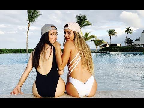 Las Aventuras de Vane y Cori en Cap Cana - Premios Heat de HTV (Vanessa Suárez y Corina Smith)