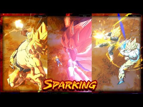 GUARANTEED ANIMATIONS FOR SPARKING UNITS IN DRAGON BALL LEGENDS!?
