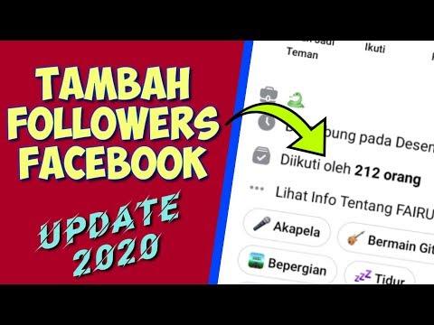 Cara mengaktifkan pengikut di fb lite 1000% BERHASIL!!!.