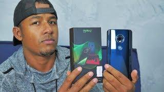 Testei! Motorola Moto G7 Plus | Notch em gota, Alto falante estéreo, Novo Fone e Turbo Power 27W