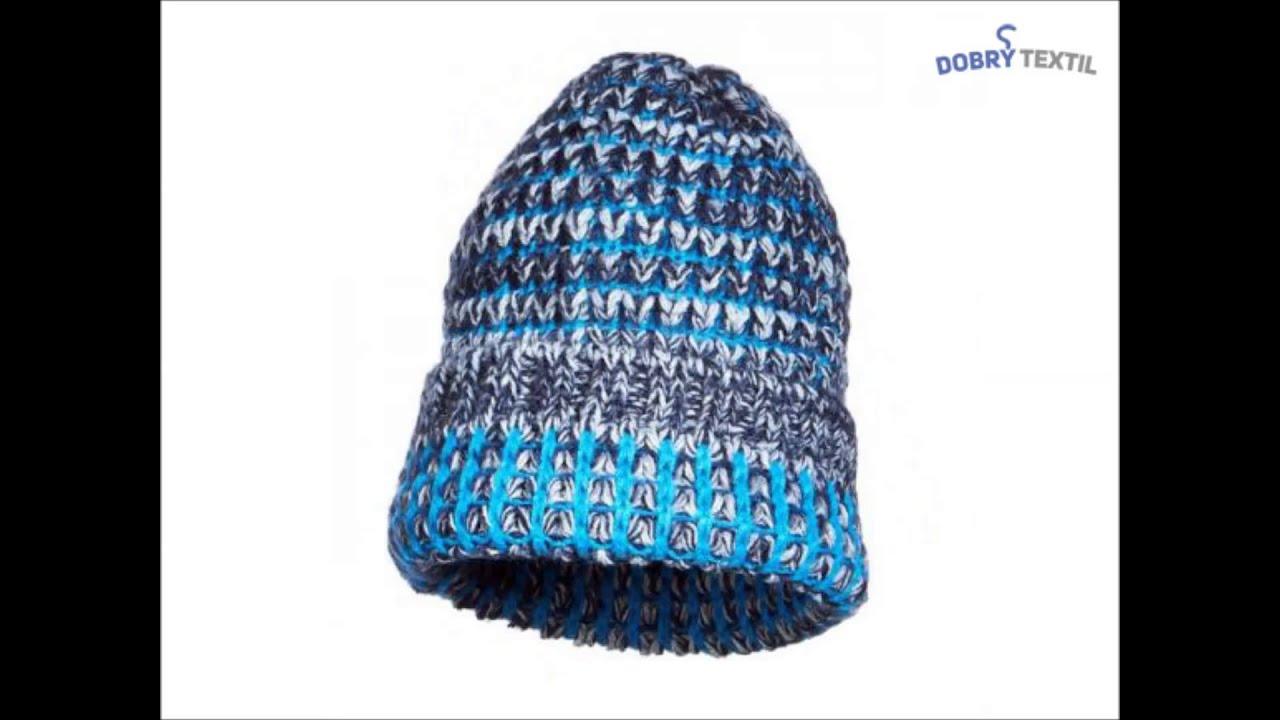 827a38467 Hrubo pletená čiapka v niekoľkých farbách - DobrýTextil.sk