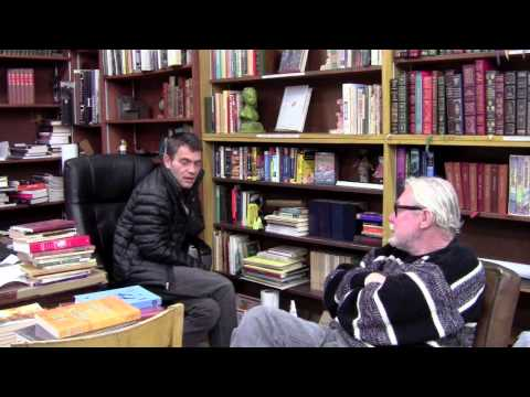 Alias Used and rare Bookstore Interview. January 3, 2013.