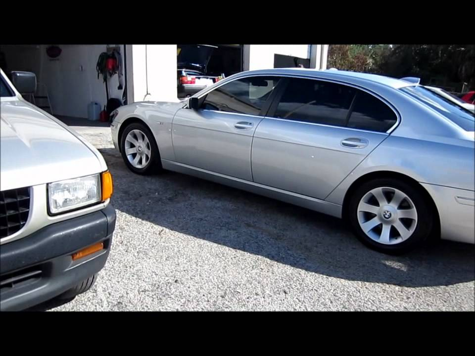 2006 Silver BMW 750Li 1 Step Polish With Complete Interior Detail Garry Dean Tampa FL Premium Custom Detailing Products