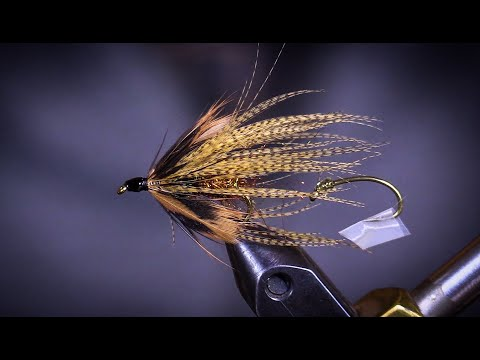 At The Vise With AFS | Keith Liddy Ties Trout Spey Fly