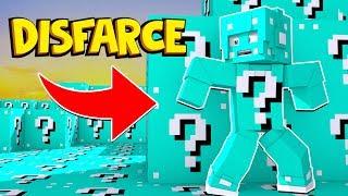 Minecraft: DISFARCE DE LUCKY BLOCK AZUL - (Esconde-Esconde)