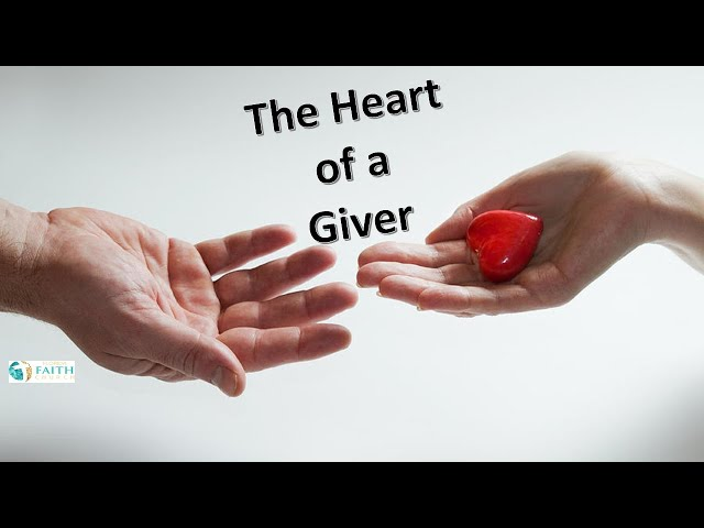 The Heart of the Giver