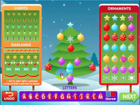 Christmas Tree Fun - ABCYA Games - YouTube