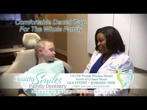 Gulfport MS Dentist / Healthy Smiles Family Dentistry 228 832-1000